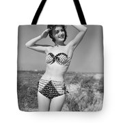 Woman In Bikini, C.1950s Tote Bag