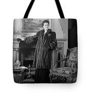 Woman In Fur Coat, C.1940s Tote Bag