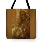Woman In Head-dress-also At Big.fishery.webs.com Tote Bag