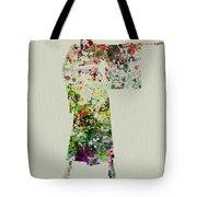 Woman In Kimono Tote Bag