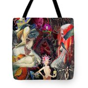 Woman In Love Tote Bag