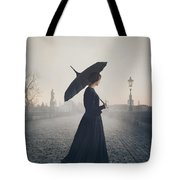 Woman In Mourning Tote Bag