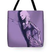 Woman In Shadows Tote Bag