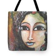 Woman - Indian Tote Bag