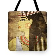 Woman Of Ancient Egypt Tote Bag