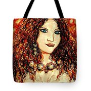 Woman Of Desire Tote Bag