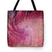 Woman Of Fire Tote Bag