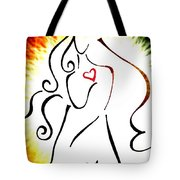 Woman Of Love Tote Bag