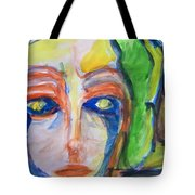 Woman Of The Trees Tote Bag