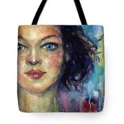 Woman  Portrait 2 Tote Bag