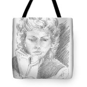 Woman Reading A Book Tote Bag