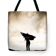 Woman Sillhouette Tote Bag