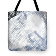 Woman Sleeping Tote Bag