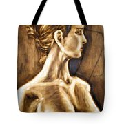Woman Tote Bag by Thomas Valentine