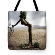 Woman Tree Art Tote Bag
