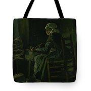 Woman Winding Yarn Nuenen, March 1885 Vincent Van Gogh 1853 - 1890 Tote Bag