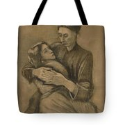 Woman With A Child On Her Lap The Hague, March 1883 Vincent Van Gogh 1853 - 1890 Tote Bag