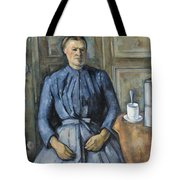 Woman With A Coffeepot  Tote Bag