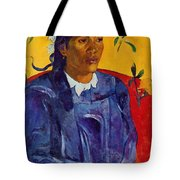 Woman With A Flower 1891 Tote Bag