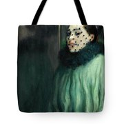 Woman With A Veil Tote Bag