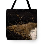 Woman With Beautiful Hair Tote Bag