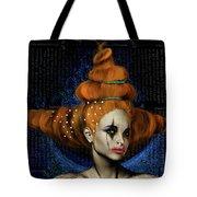 Woman With Big Hair Tote Bag