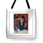 Woman With Coffee Femme Au Cafe Tote Bag