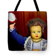 Woman With Tambourine Tote Bag