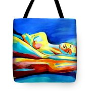 Womanly Figure Tote Bag