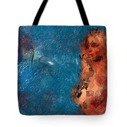 Women  - Abstract Tote Bag