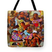 Women And Children Tote Bag