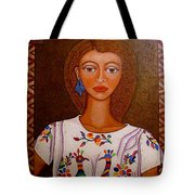 Women Below And Beyond The Sea Tote Bag