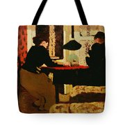 Women By Lamplight Tote Bag