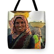 Women Carrying Goods On Their Heads H B Tote Bag