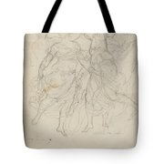 Women Dancing Tote Bag