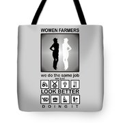 Women Farmers Tote Bag