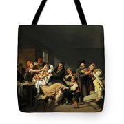 Women Fighting  Tote Bag