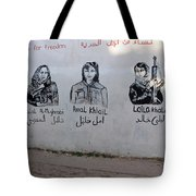 Women For Freedom Tote Bag