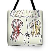 Women Hoping For Rain 2 Tote Bag