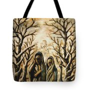 Women In Harmattan Tote Bag
