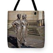 Women Of Steel Tote Bag