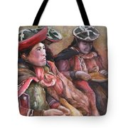 Women Of The Andes Tote Bag