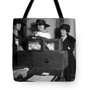 Women Voting, C1917 Tote Bag