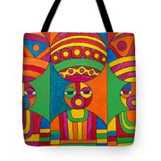 Women With Calabashes Tote Bag