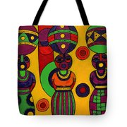 Women With Calabashes II Tote Bag