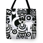Women With Calabashes IIi Tote Bag
