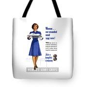 Women's Army Corps - Ww2 Tote Bag