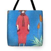 Womens Fashion, George Barbier, 1921 Tote Bag