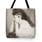 Womens Hairstyle Tote Bag