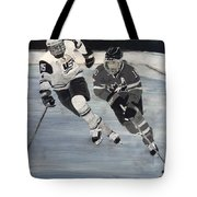 Women's Hockey Tote Bag by Richard Le Page